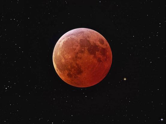 迟到152年的约会 解锁月全食围观新姿势