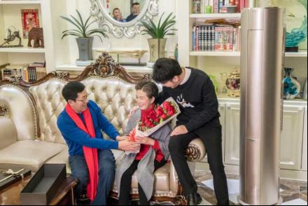 当情人节遇上春节怎么过?孝子高进选海尔成套智慧家电送父母-焦点中国网